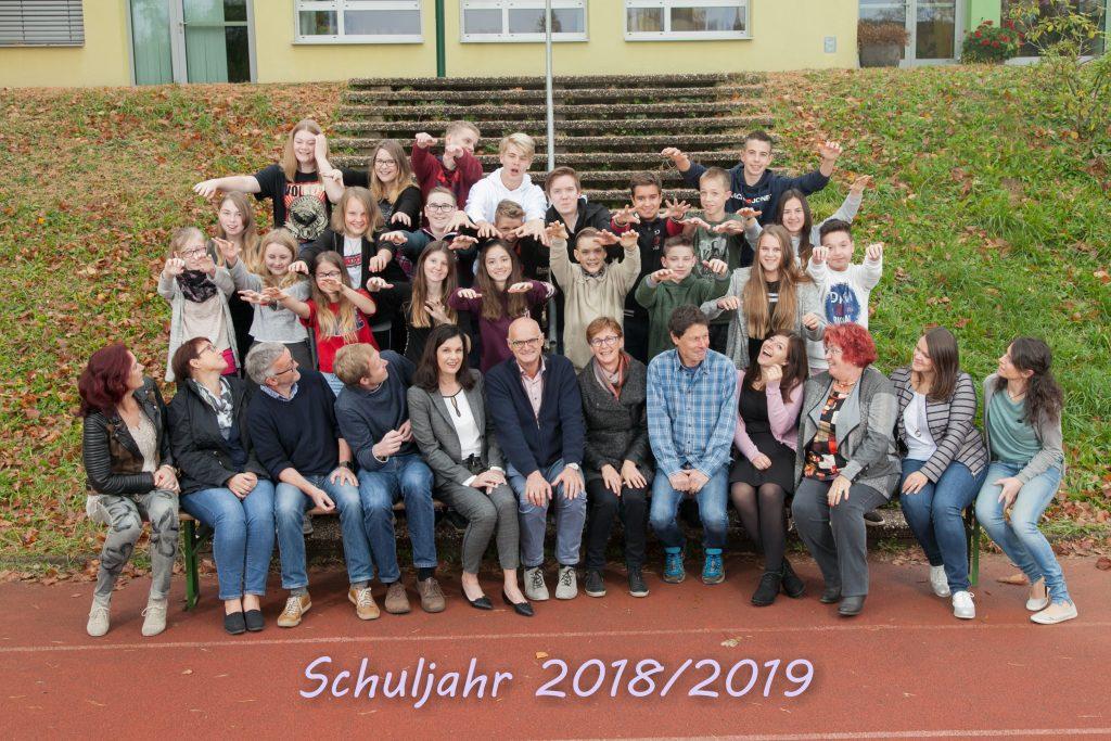 Das Team der NMS Puch im Schuljahr 2017/18