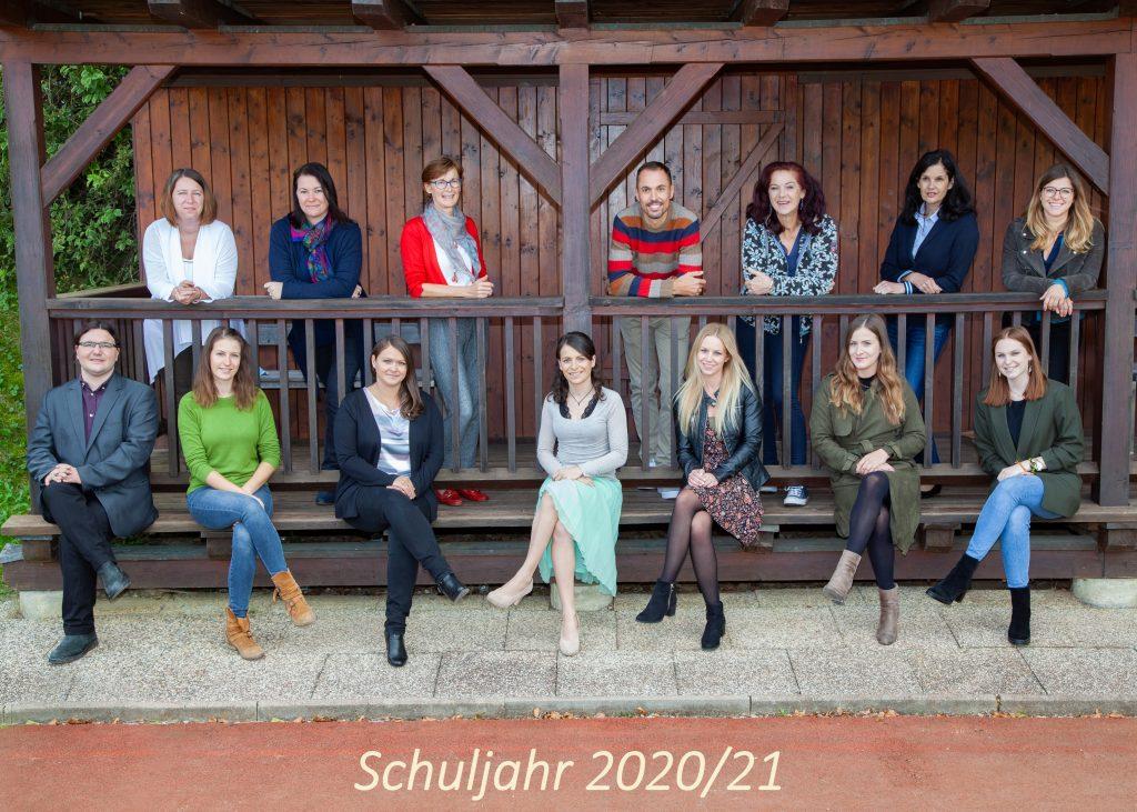Das Team der NMS Puch im Schuljahr 2020/21
